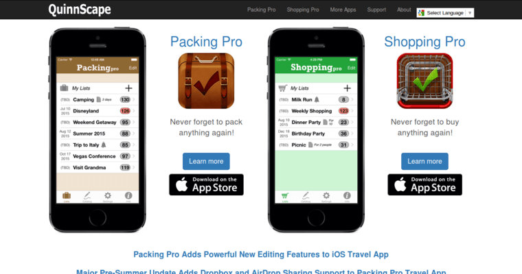 Best Packing App For Iphone